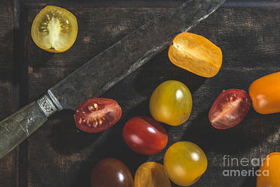 Photograph - Multicolored Cherry Tomatoes by Deyan Georgiev