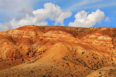 Photograph - Multicolored Mountains Of Kyzyl-chin. Altai by Victor Kovchin