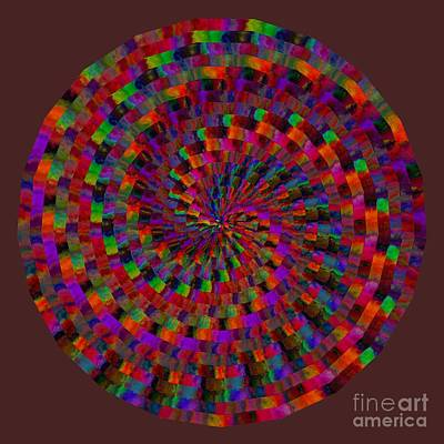 Digital Art - Multicolored Twist by Ruth Moratz