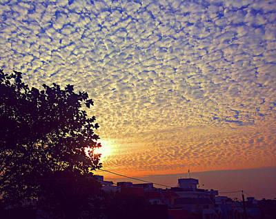 Photograph - Multicoloured Sky by Atullya N Srivastava