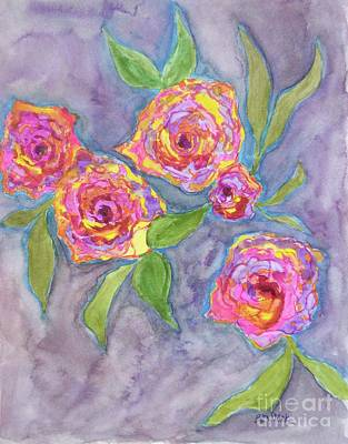 Painting - Multifarious Roses  by Barrie Stark