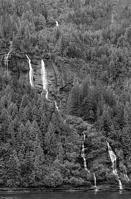 Photograph - Multiple Falls by Peter J Sucy