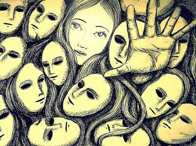 Multiple Personalities Original by Paulo Zerbato