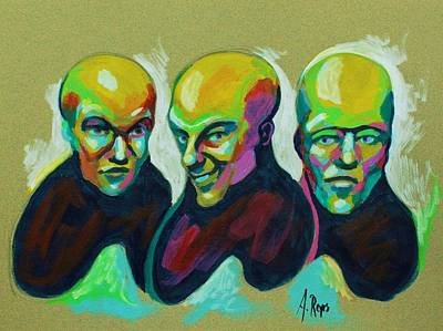 Painting - Multiple Personality by Angel Reyes