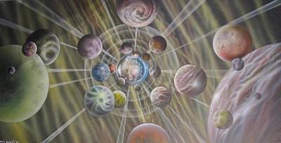 Multiverse 582 Original by Sam Del Russi