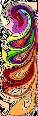 Multiverse   Art Print by Chris Butler