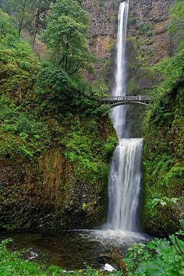 Photograph - Multnoma Falls by Jonathan Davison
