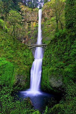 Hike Photograph - Multnomah Dream by Chad Dutson