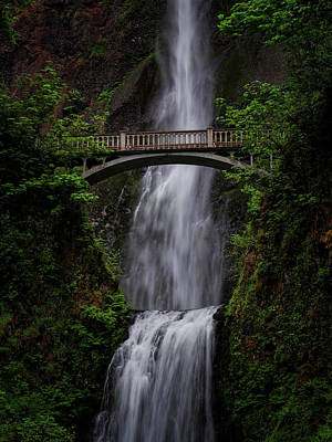 Photograph - Multnomah Falls 3 by Thomas Hall