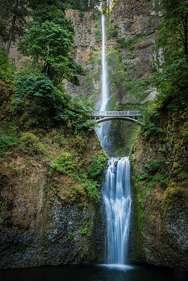 Photograph - Multnomah Falls by Chris McKenna