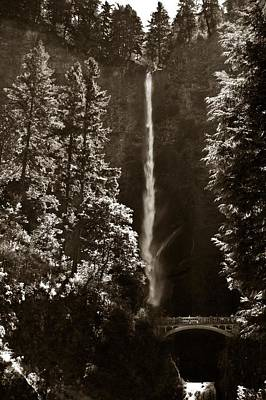 Photograph - Multnomah Falls by Christopher Meade