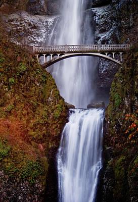 Photograph - Multnomah Falls by Dale Stillman