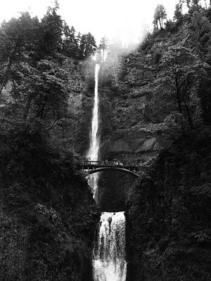Photograph - Multnomah Falls by Jean Evans
