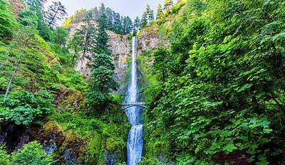 Photograph - Multnomah Falls by Jonny D