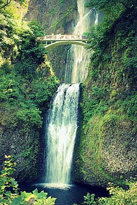 Photograph - Multnomah Falls by Joseph Skompski