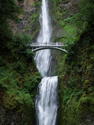 Photograph - Multnomah Falls by Keith Boone