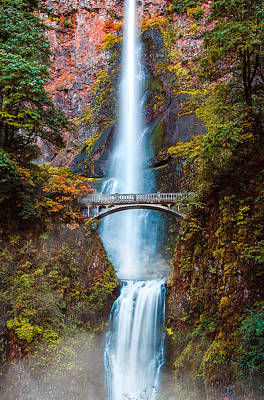 Photograph - Multnomah Falls by Kevin McClish