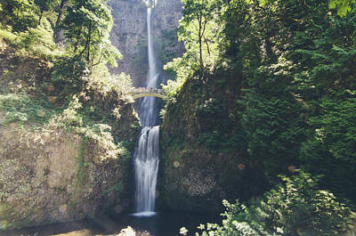 Photograph - Multnomah Falls by Margaret Pitcher