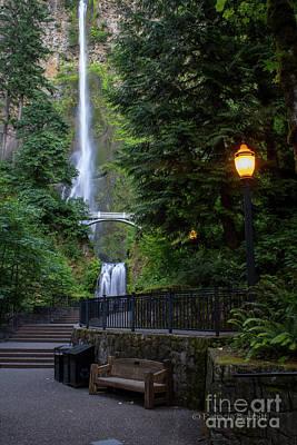 Photograph - Multnomah Falls by Patricia Babbitt