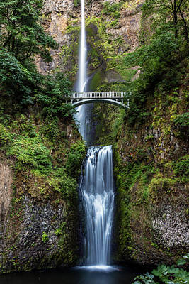 Photograph - Multnomah Falls by Pierre Leclerc Photography