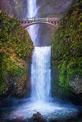 Photograph - Multnomah Majesty by Lynn Bauer