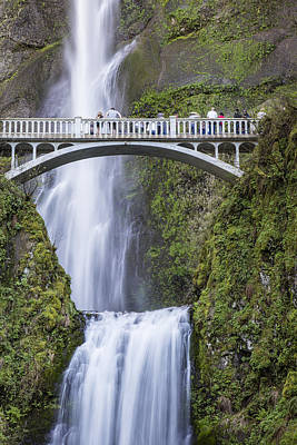 Photograph - Multnomah Waterfall Close Up by John McGraw