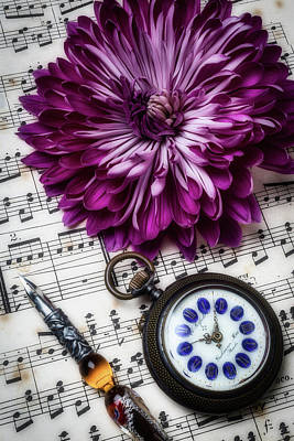 Photograph - Mum And Pocket Watch by Garry Gay