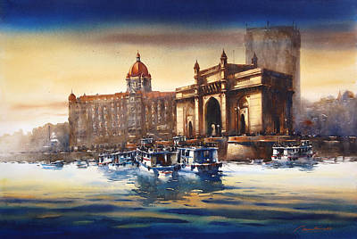 Mumbai Gateway Of India Original by Ananta Mandal