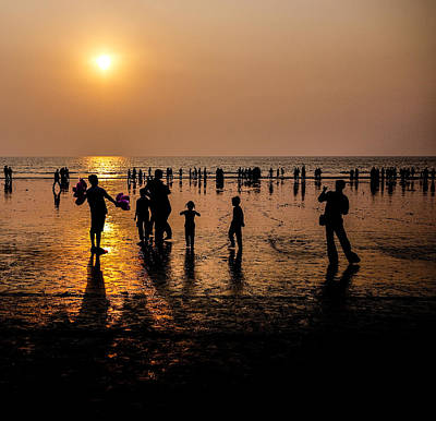 Photograph - Mumbai Sunset by M G Whittingham