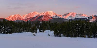 Photograph - Mummy Range Sunrise 2 by Aaron Spong