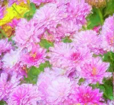 Photograph - Mums by Garvin Hunter