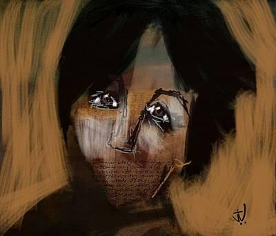 Digital Art - Mums The Word by Jim Vance