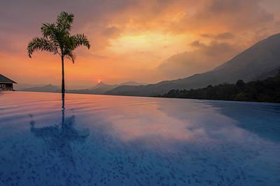 Photograph - Munar Sunset by Mark Perelmuter