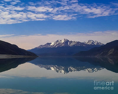 Olympic Sports - Muncho Lake Reflection British Columbia Canada by Kimberly Blom-Roemer