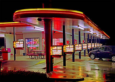 Photograph - Munfordville Sonic Drive-in by James Rasmusson
