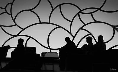 Photograph - Munich Airline Passenger Lounge by Joe Bonita