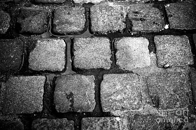 Photograph - Munich Cobblestone by John Rizzuto