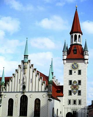 Photograph - Munich Detail 34 by Randall Weidner