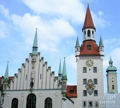 Photograph - Munich Detail 38 by Randall Weidner