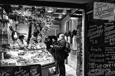 Photograph - Munich Food Order by John Rizzuto