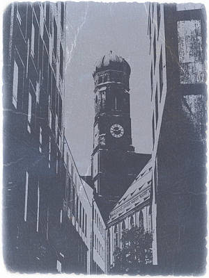 Munich Frauenkirche Art Print