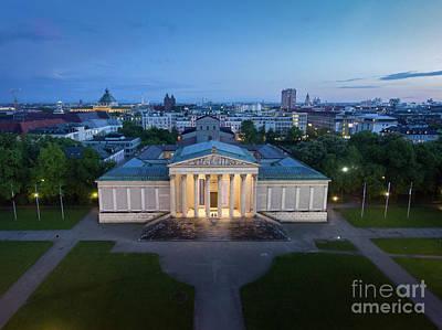 Photograph - Munich Koenigsplatz Impressions by Hannes Cmarits
