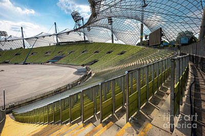 Photograph - Munich - Olympic Stadium by Juergen Klust