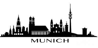 Digital Art - Munich by Rafael Salazar