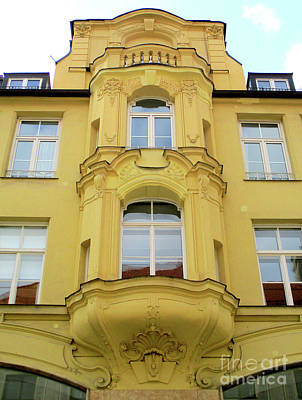 Photograph - Munich Window 1 by Randall Weidner