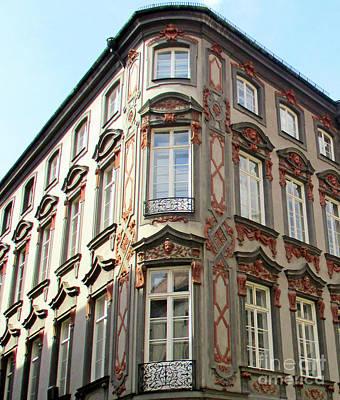 Photograph - Munich Window 2 by Randall Weidner