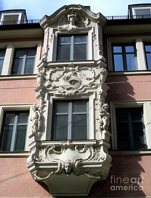Photograph - Munich Window 3 by Randall Weidner