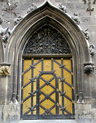 Photograph - Munich Window 5 by Randall Weidner