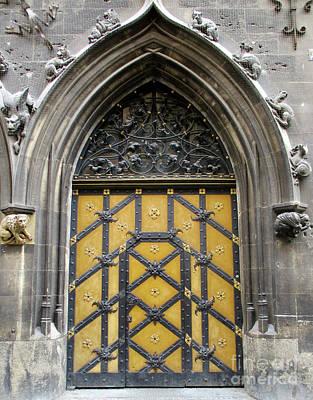 Photograph - Munich Window 5 by Randall Weidner