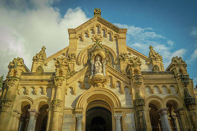 Photograph - Municipal Cementario De Bilbao Chapel by Henri Irizarri